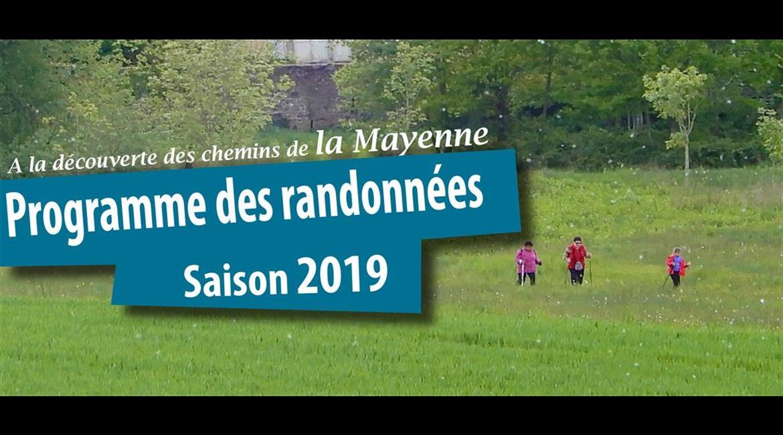 Programmes des randonnées - saison 2019