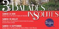 Balade insolite le 14 septembre