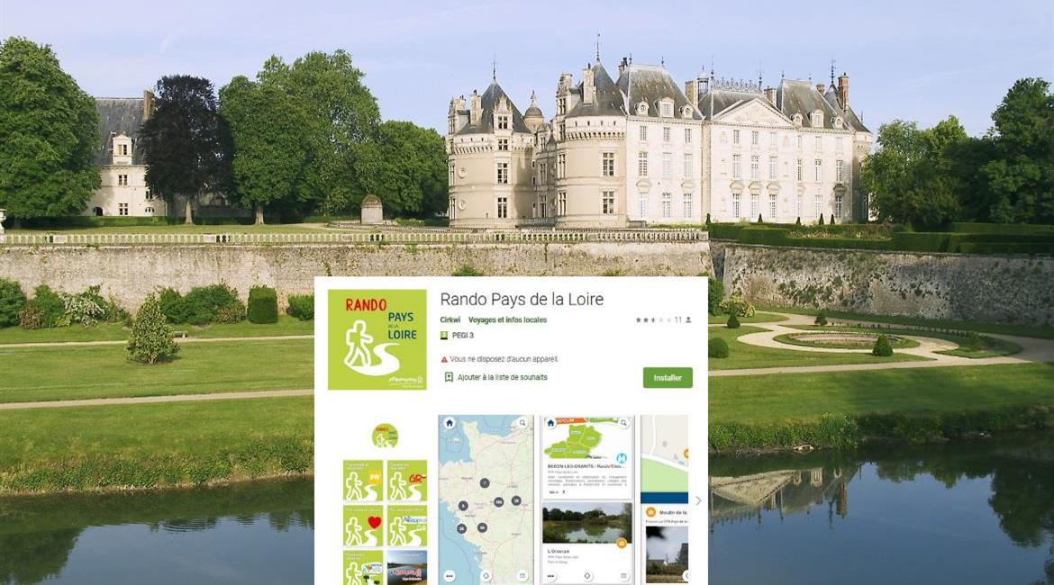 "Nouvelle version de l'application mobile ""Rando Pays de la Loire"""